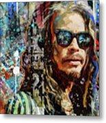 Steven Tyler Tribute Metal Print