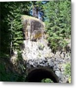 Stevens Canyon Road Tunnel Metal Print by Charles Robinson