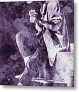 Stevie Ray Vaughan - 05 Metal Print