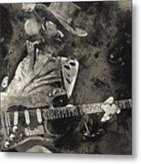 Stevie Ray Vaughan - 13  Metal Print