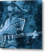 Stevie Ray Vaughan - 14 Metal Print