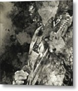 Stevie Ray Vaughan - 15 Metal Print