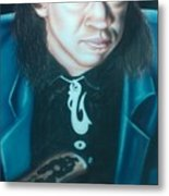 Stevie Ray Vaughn Metal Print