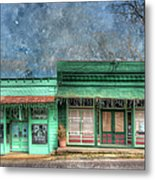 Stewards General Store And Post Office Metal Print