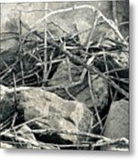 Sticks And Stones 2782 Metal Print