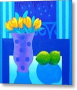 Still Life At Window IIi Metal Print