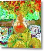 Still Life Flower Metal Print