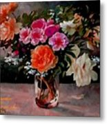 Still-life For Anne Catus 1 No. 1 H A Metal Print