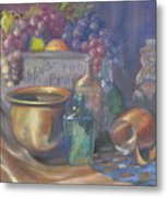 Still Life Honey Bear Metal Print