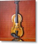 Still Life Of Violin Metal Print