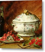 Still Life With A Soup Tureen Metal Print