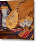 Still Life With Arabian Oud Metal Print