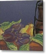 Still Life With Artichockes Metal Print