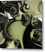 Still Life With Confused Movement Metal Print