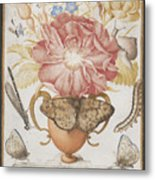 Still Life With Flowers Metal Print