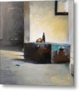 Still Life With Mirror Metal Print