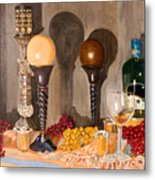 Still Life With Orbs Metal Print