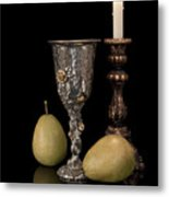Still Life With Pears Metal Print