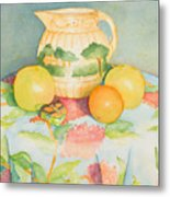 Still Life With Pitcher Metal Print