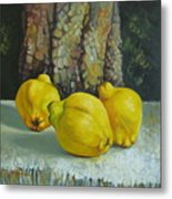 Still Life With Quinces Metal Print