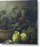 Still-life With Quinces Metal Print by Tigran Ghulyan
