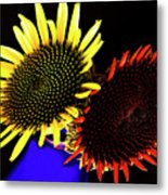 Still Life With Summer Flowers #1. Metal Print