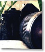 Still Life With Texture Metal Print
