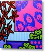 Still Life With The Beatles Metal Print by John  Nolan