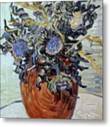 Still Life With Thistles Metal Print