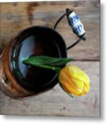 Still Life With Tulip Metal Print
