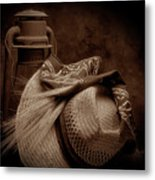 Still Life With Wheat II Metal Print
