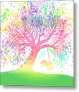 Still More Rainbow Tree Dreams 2 Metal Print
