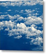 Still Riding The Clouds 3 Metal Print