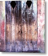 Still Standing In New Orleans Metal Print