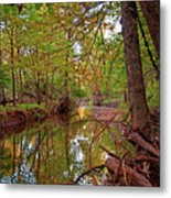 Still Waters In The Evening Metal Print
