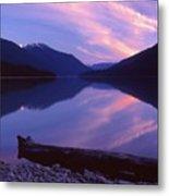 Stillness At Lillooet Lake  Metal Print