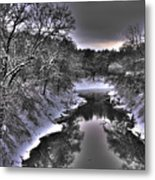 Stillwater Creek Metal Print