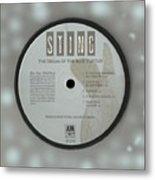Sting Dream Of The Blue Turtles Lp Label Metal Print