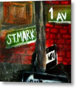 St.marks Place Metal Print