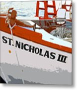 St.nicholas Three Metal Print