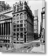 Stock Exchange, C1908 Metal Print