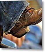 Stock Show Boots I Metal Print