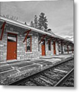 Stockbridge Train Station Metal Print