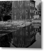 Stockdale Mill Metal Print