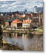 Stockholm From Skansen Metal Print