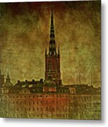 Stockholm Painting V Metal Print