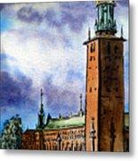 Stockholm Sweden Metal Print by Irina Sztukowski