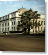 Stockton Civic Auditorium 2 Metal Print