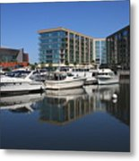 Stockton Waterscape Metal Print