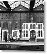 Stoke-on-trent Railway Station Uk Metal Print